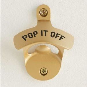 "Urban Outfitters Wall Bottle Opener ""Pop It Off"""
